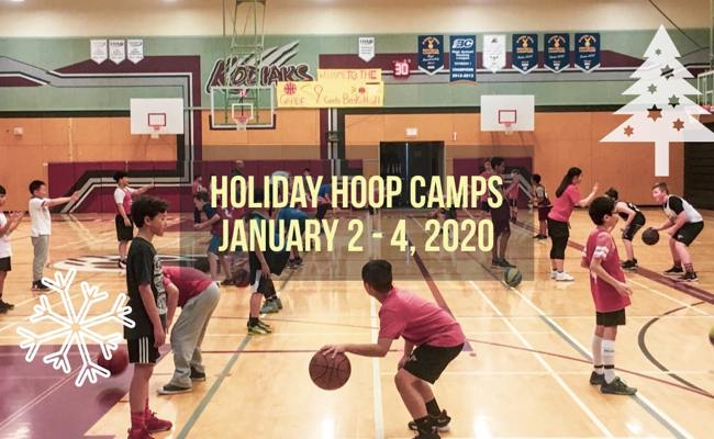 TCYBA Holiday Hoop Camps Jan 2 - 4, 2020