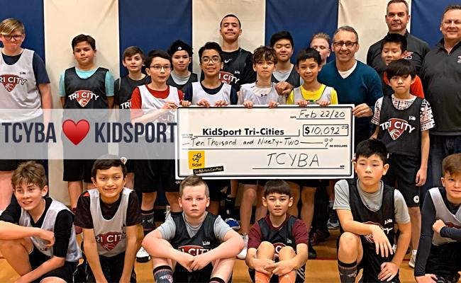 Tri-City Youth Basketball gives back!