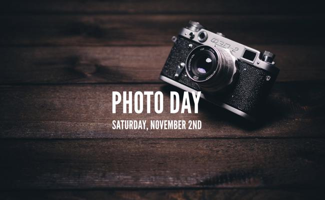 Photo Day Saturday, November 2nd