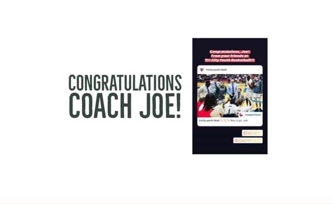 Congratulations, Joe Enevoldson! TCYBA Academy Coordinator named 2020 CCAA Coach of the Year