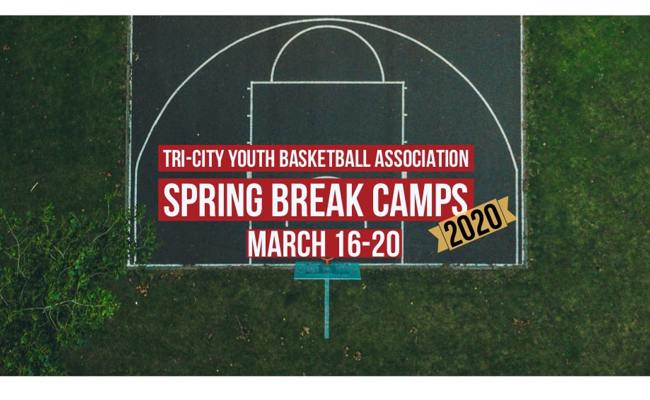 Tri-City Youth Basketball Association Spring Break Camps 2020